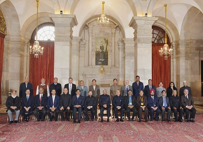 Vice Chancellors Meet at Rashtrapati Bhavan Held on 6th January, 2018.