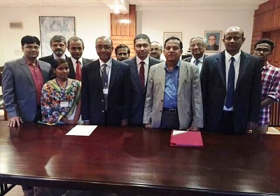 Ms. Supriya (MSW Student), Mr. Omar Kamil (NEDA, Sri Lanka),  